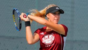 Brittany Collens, UMass Tennis Player
